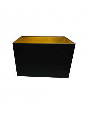 Abat-jour rectangle Noir & Or