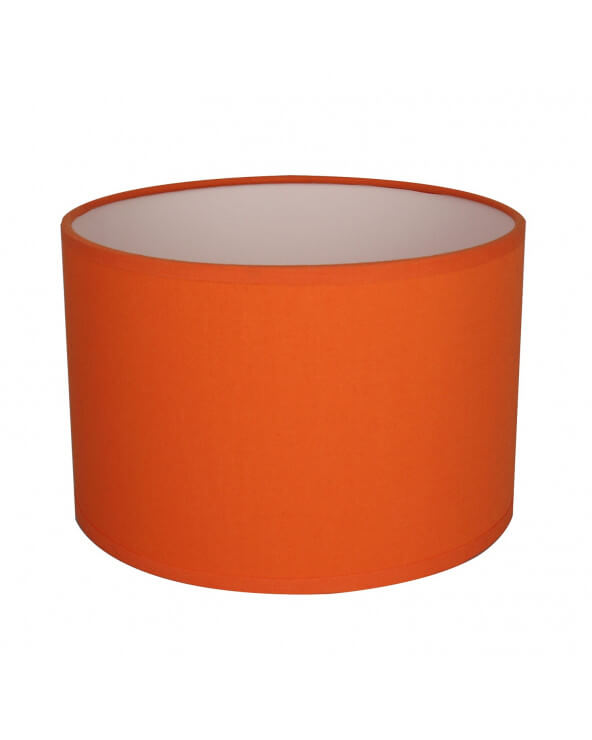 Abat-jour Rond Orange