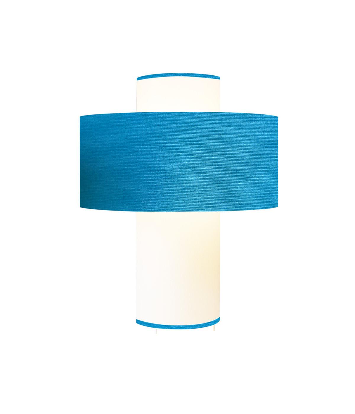 Lampe Emilio Bleu Turquoise