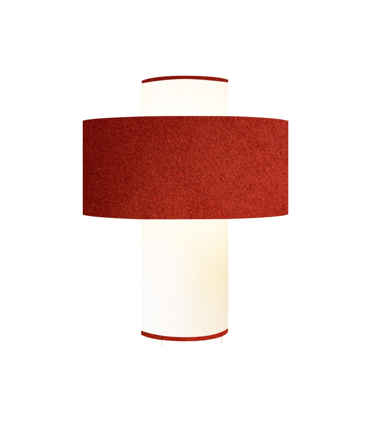 Lampe Emilio Rouge
