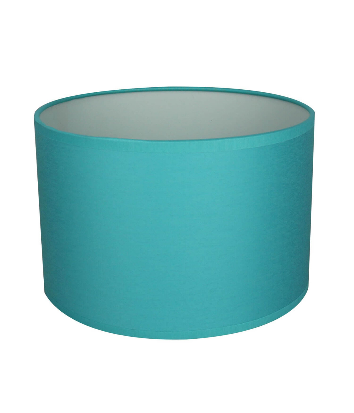 Abat-jour Rond Bleu turquoise