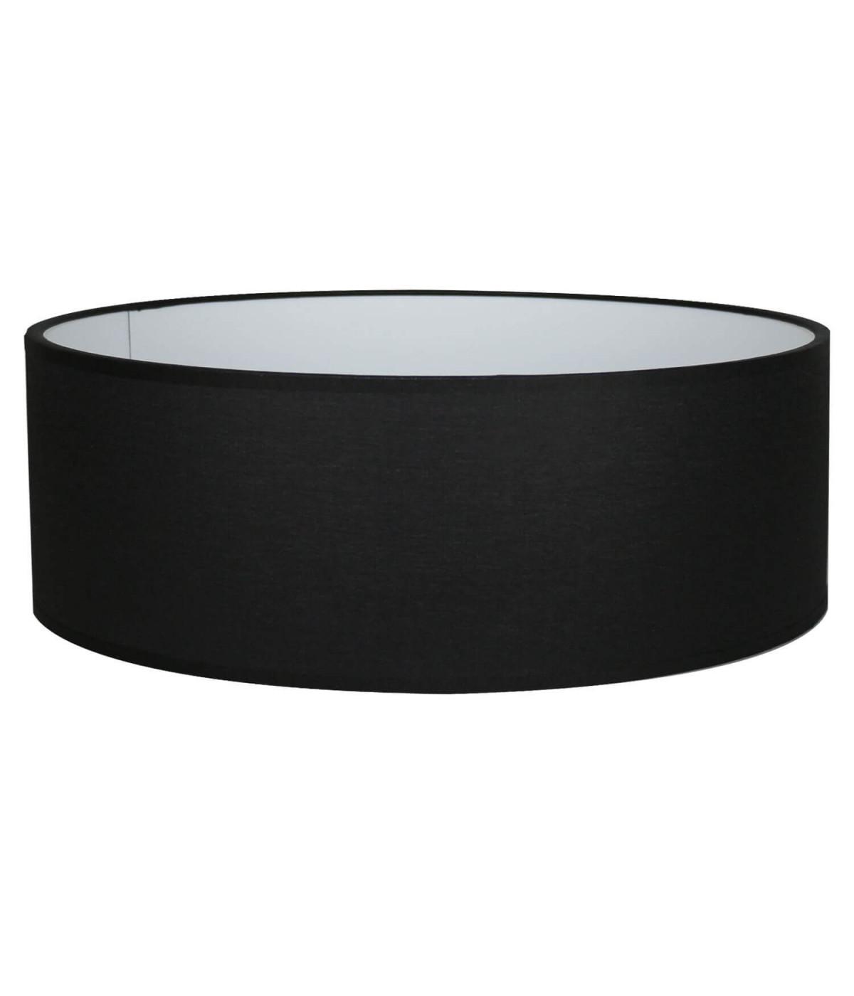 Abat-jour Oval Noir