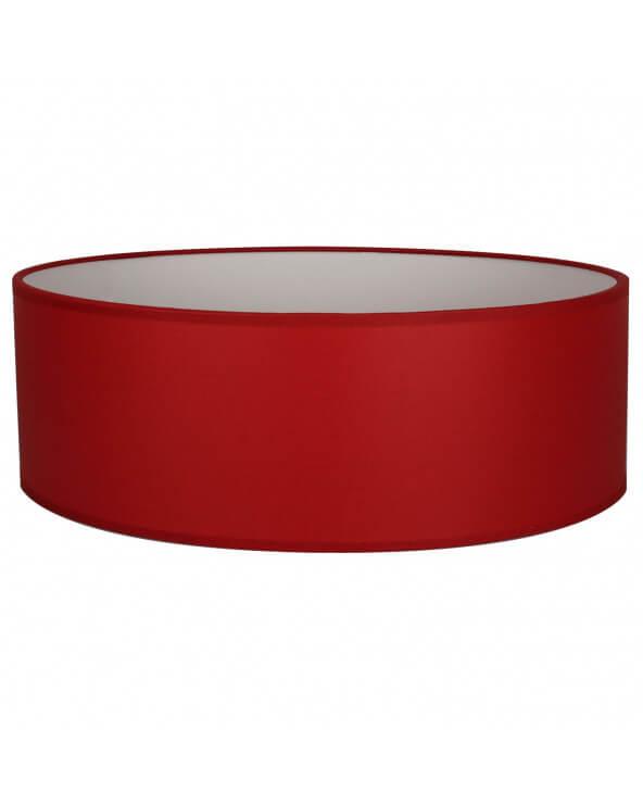 Abat-jour Oval Rouge