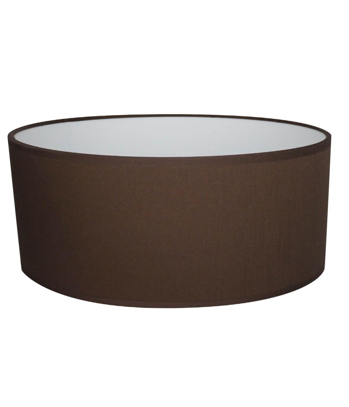 Abat-jour Oval Chocolat