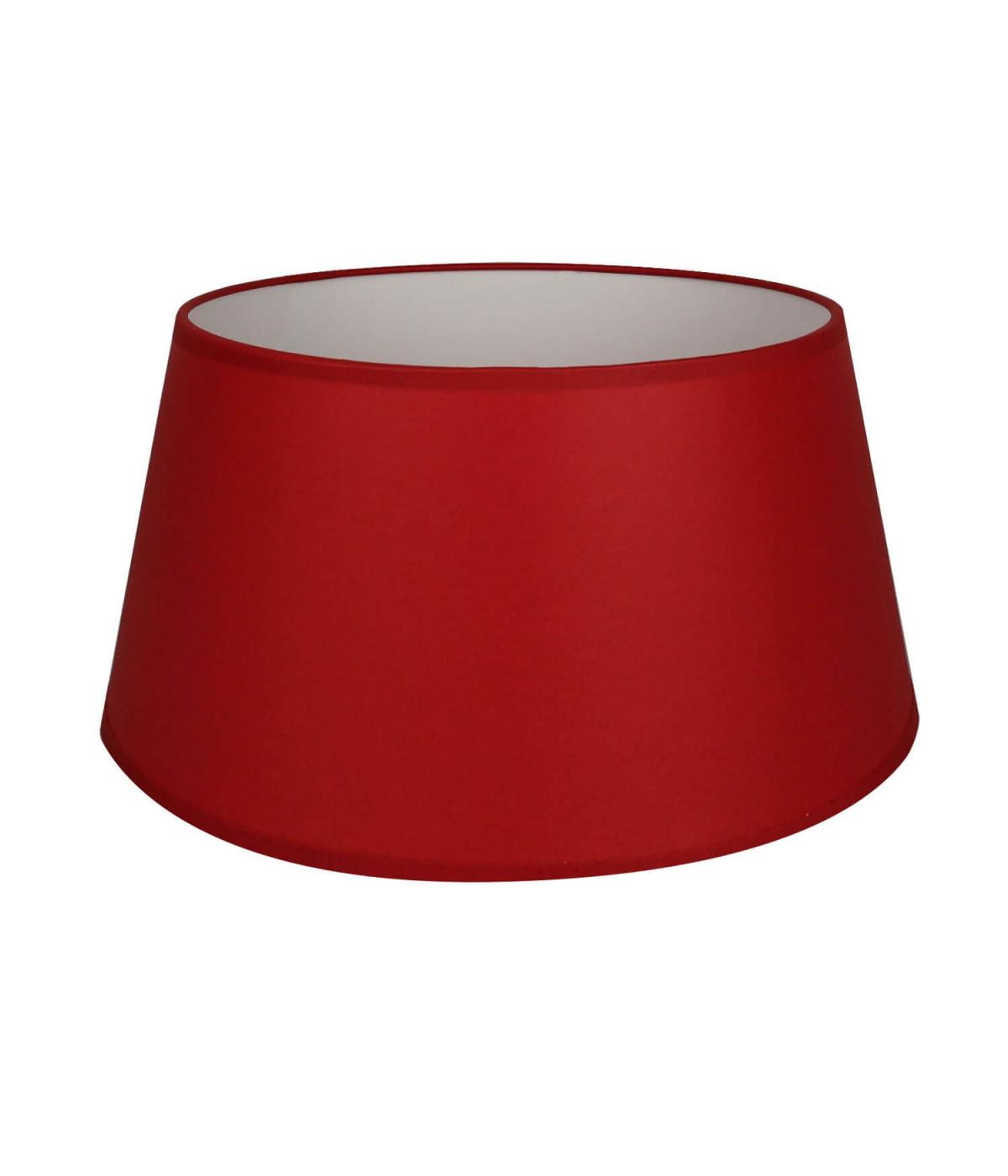Abat-jour Conique Rouge