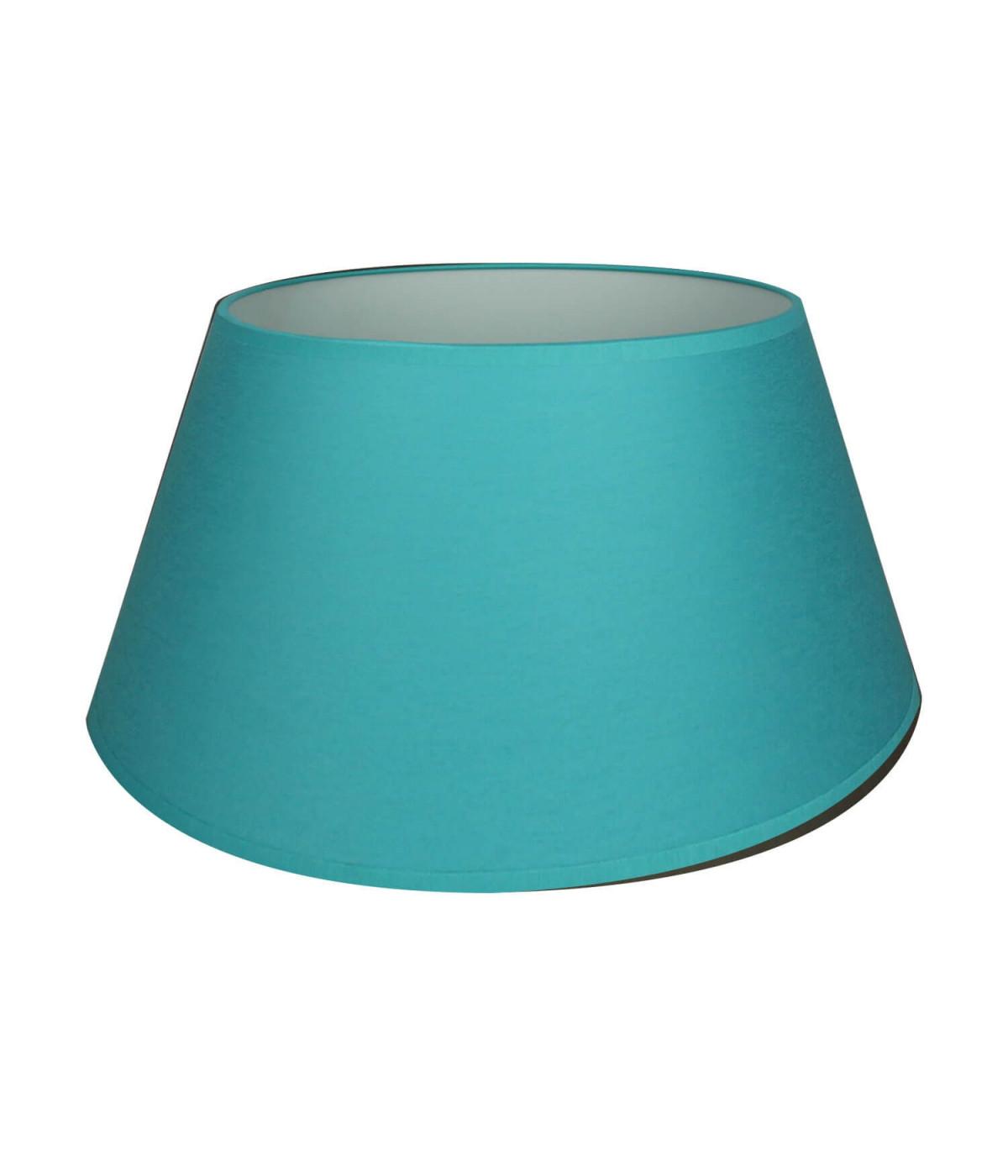 abat jour bleu Abat-jour Conique Bleu turquoise
