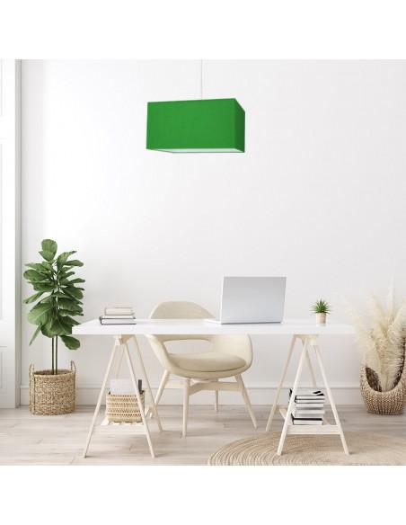 Abat-jour rectangle Vert électrique
