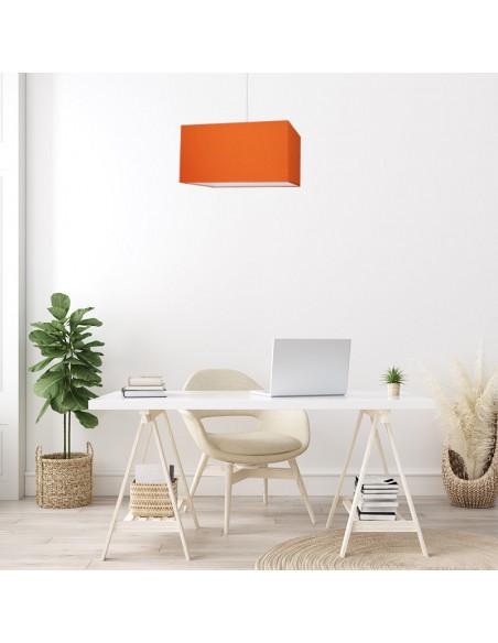 Abat-jour rectangle Orange