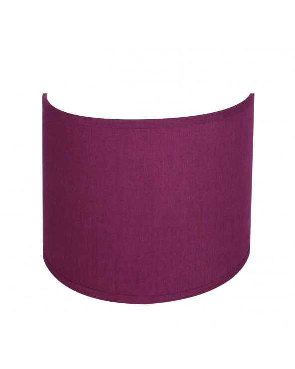 applique ronde violet