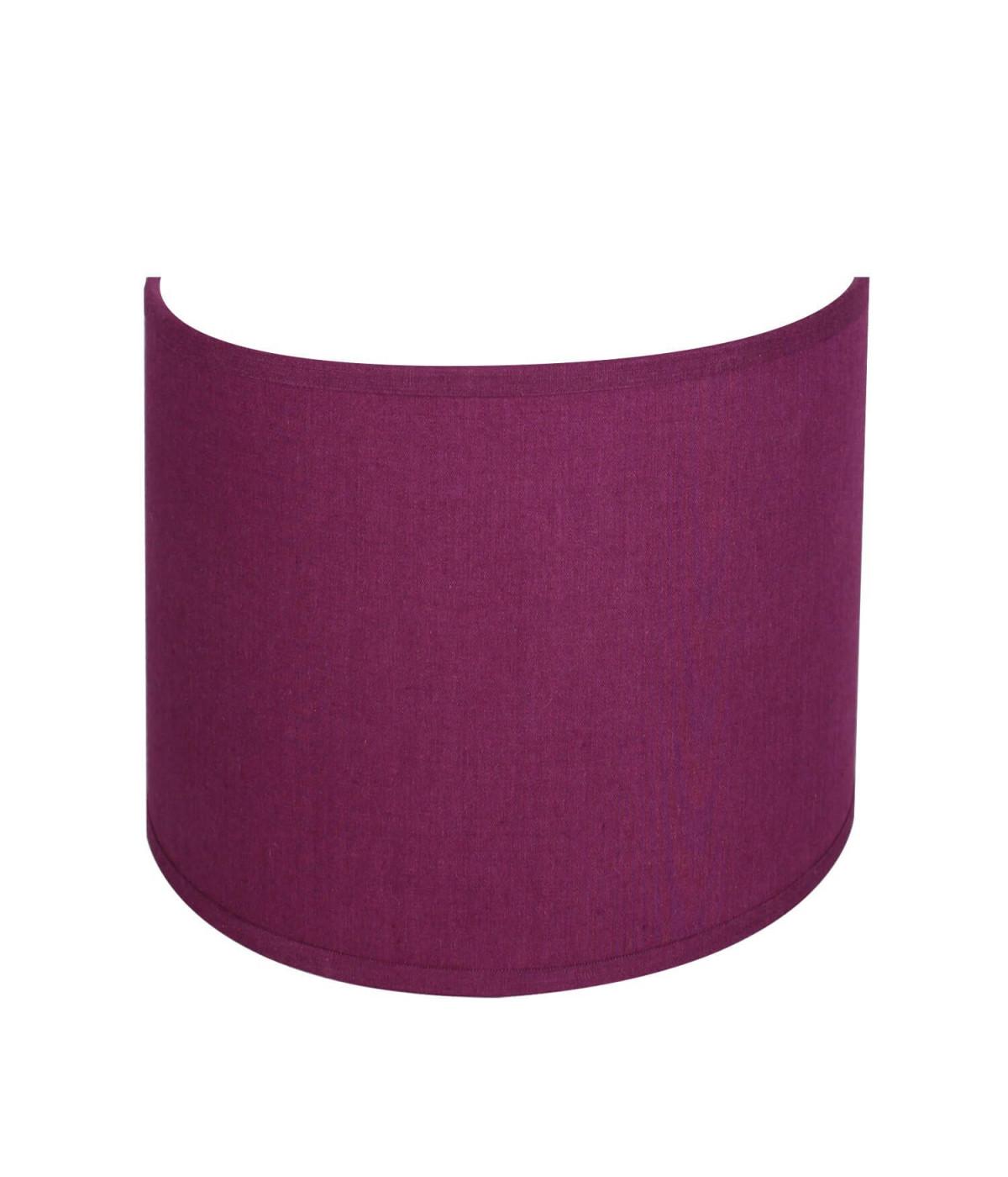 applique ronde violet