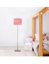 Abat-jour lampadaire enfant Happydays Rose Doux