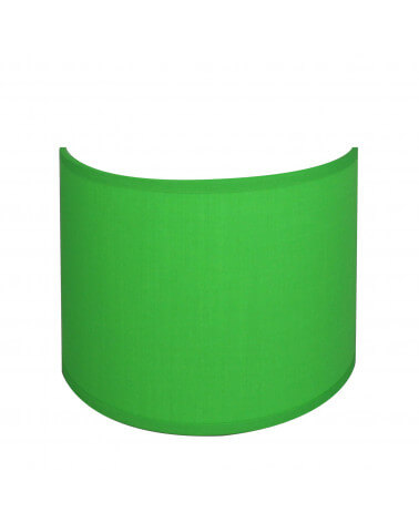 applique ronde vert electric