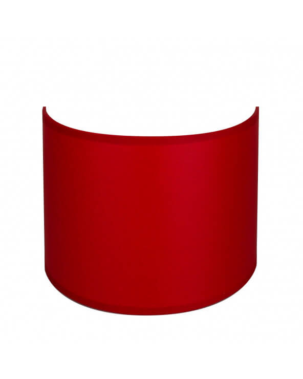 applique ronde rouge