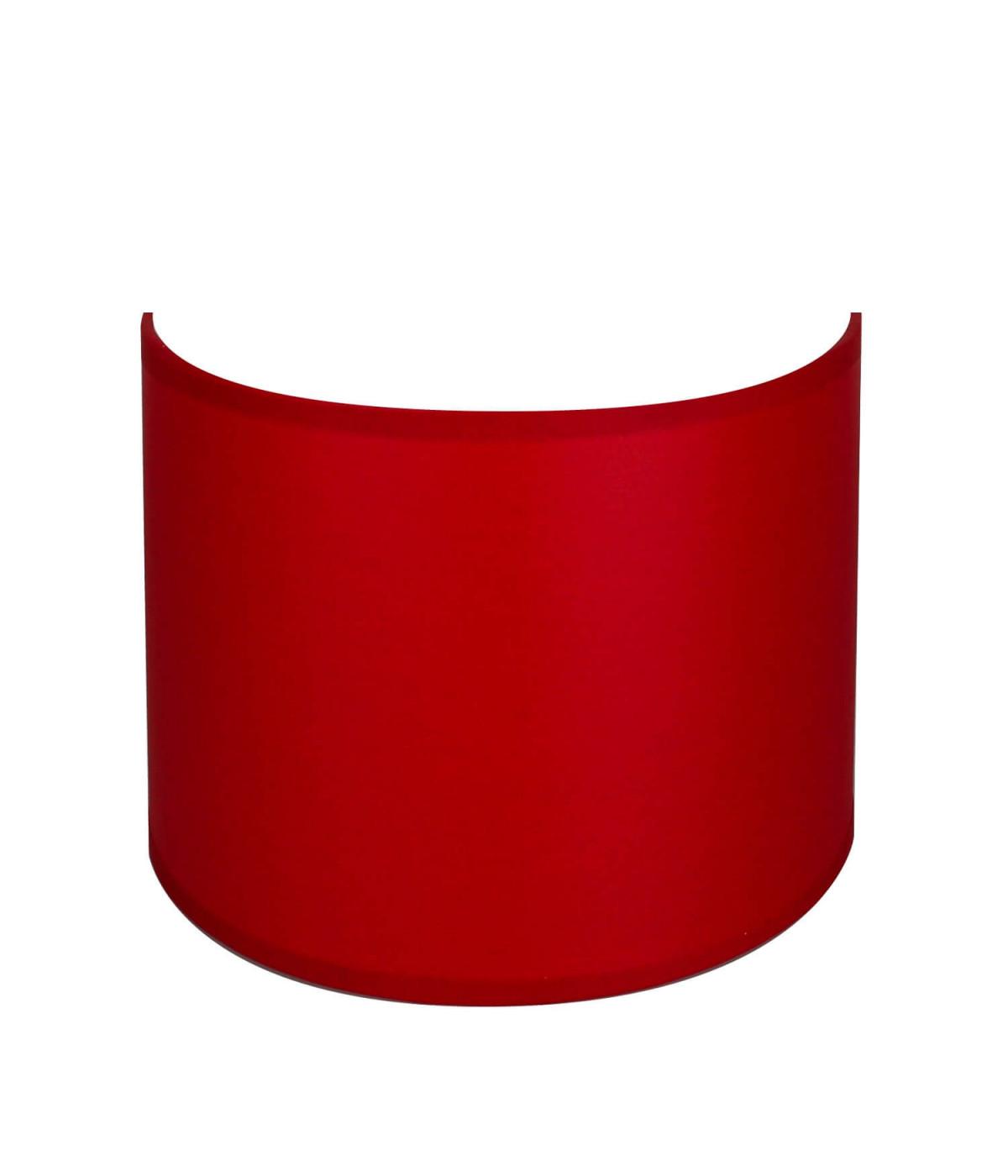 applique ronde rouge