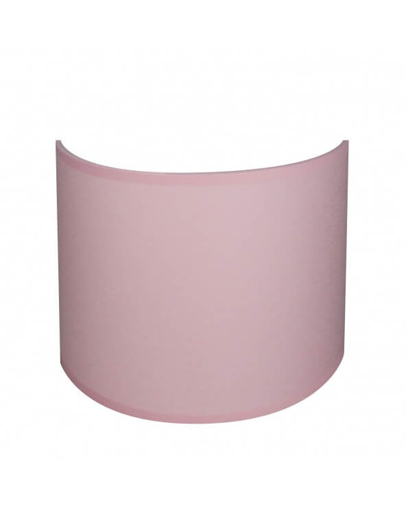 applique ronde rose