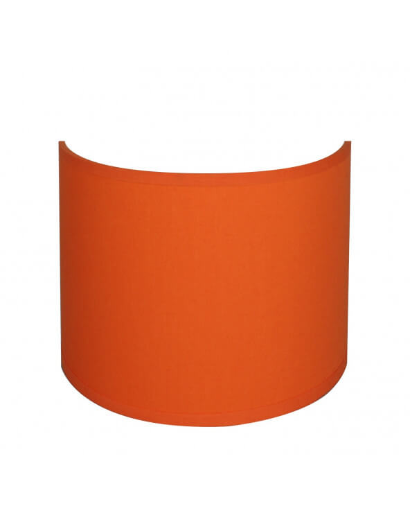 applique ronde orange