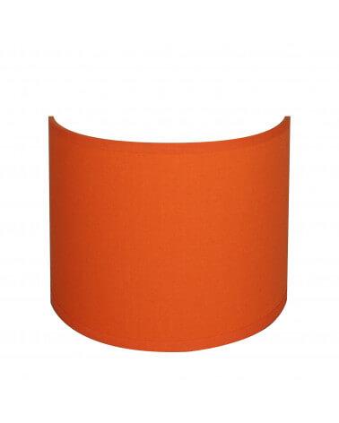 applique ronde orange
