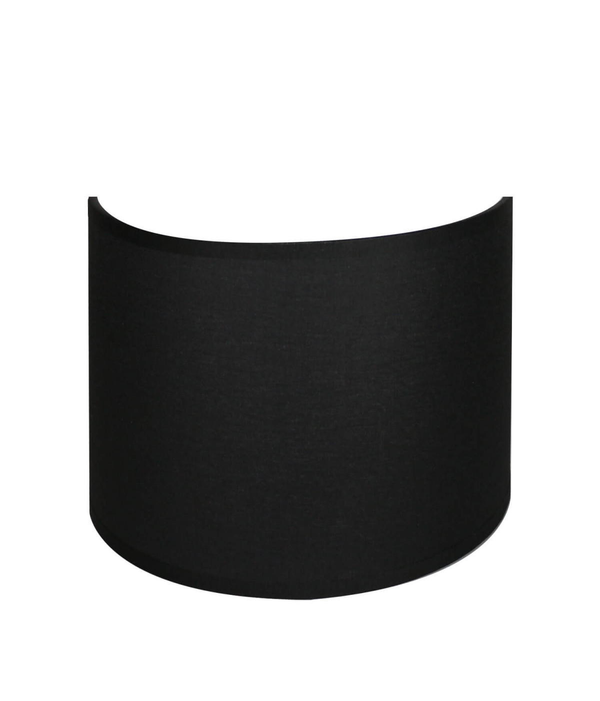 applique ronde noir