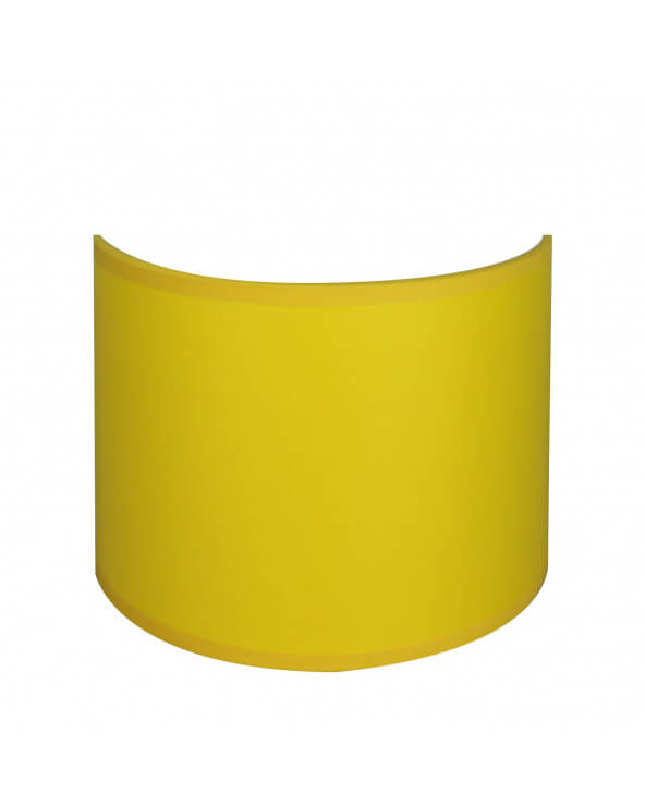 applique ronde jaune