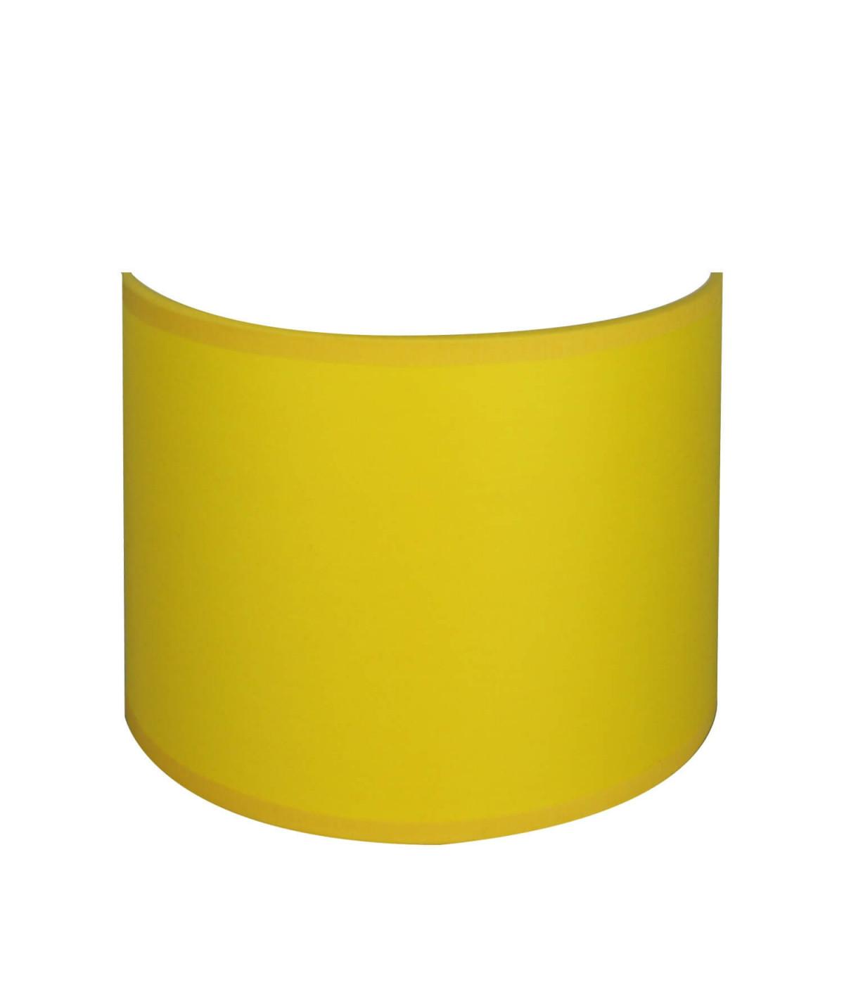 applique ronde jaune
