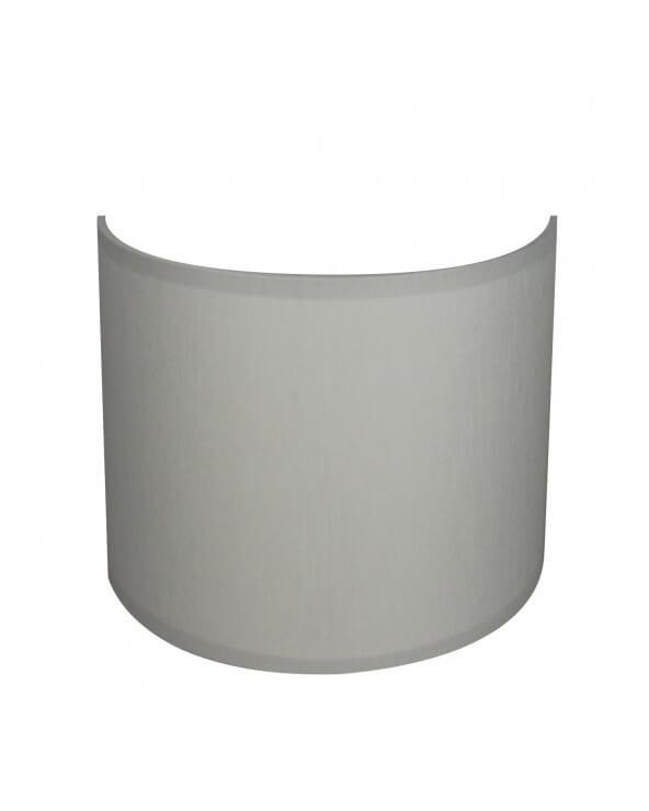 applique ronde gris clair