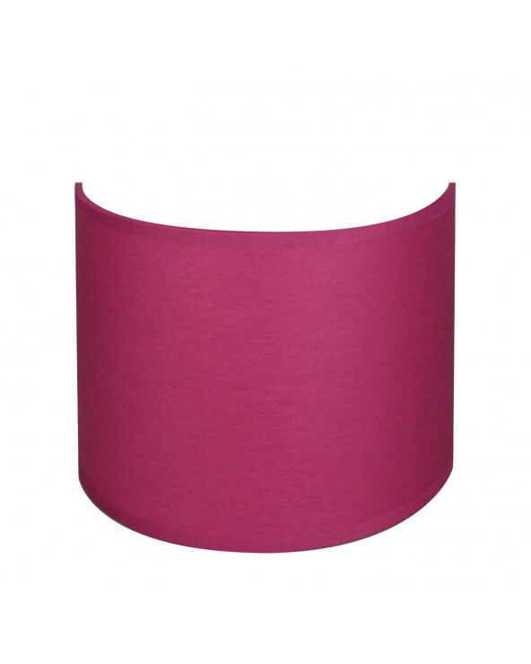 applique ronde fushia