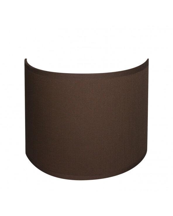applique ronde chocolat