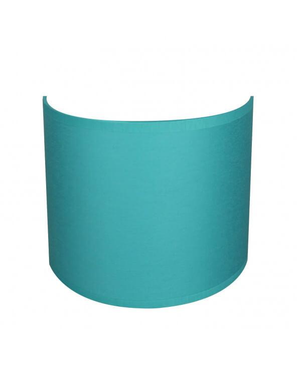 applique ronde bleu turquoise