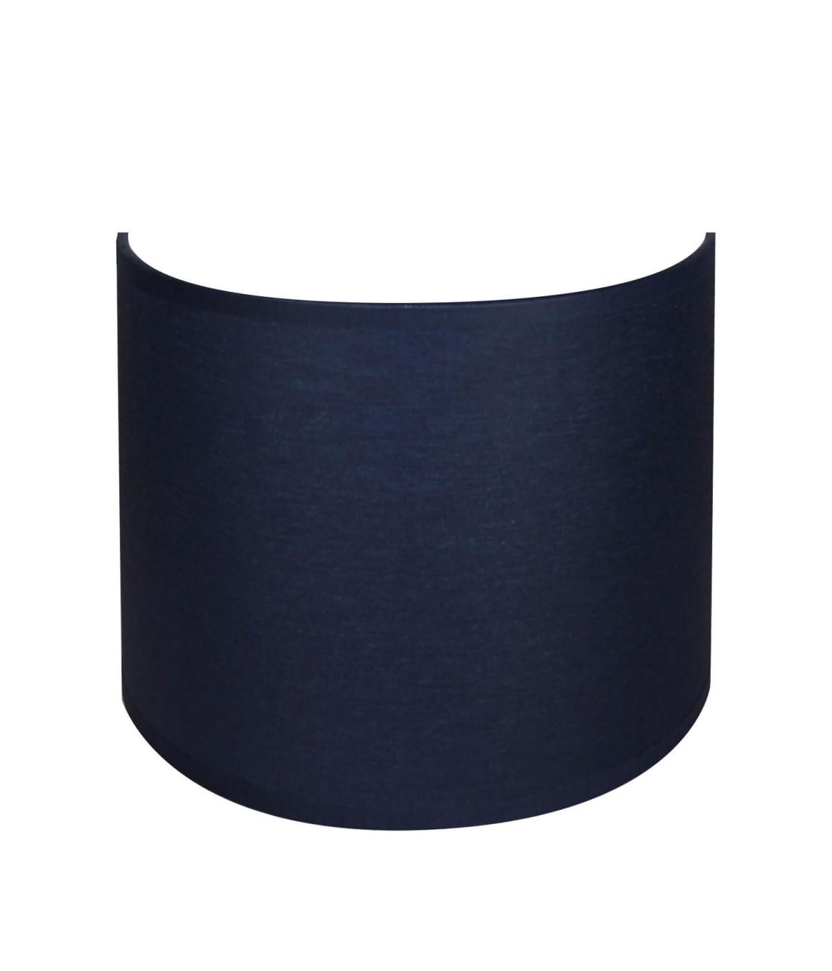 applique ronde bleu marine