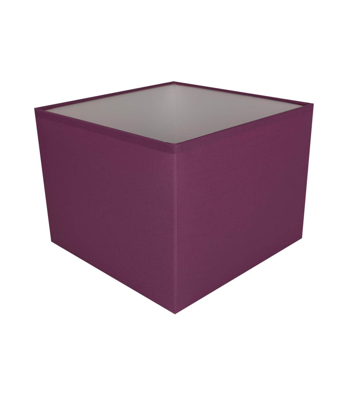 Abat-jour carré Violet