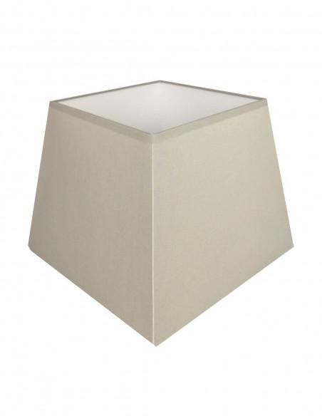 Abat-jour carré pyramidal Taupe clair