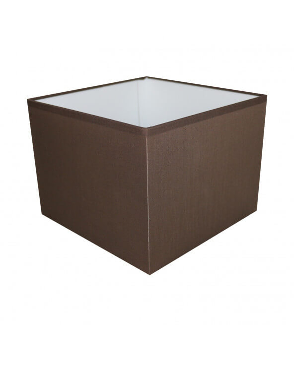 Abat-jour carré Chocolat