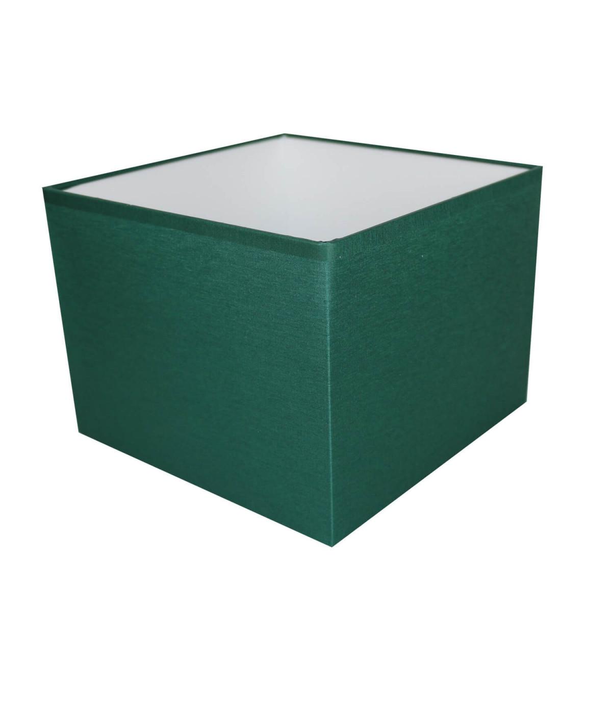 Abat-jour carré Vert empire
