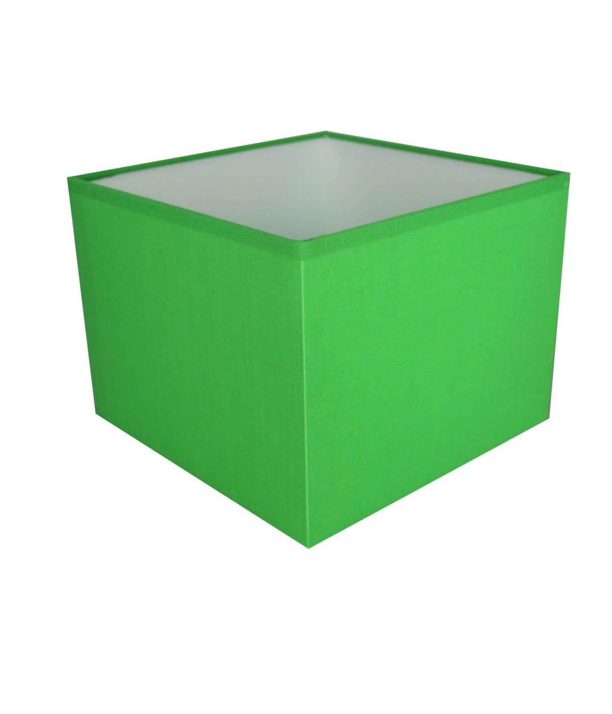 Abat-jour carré Vert electrique