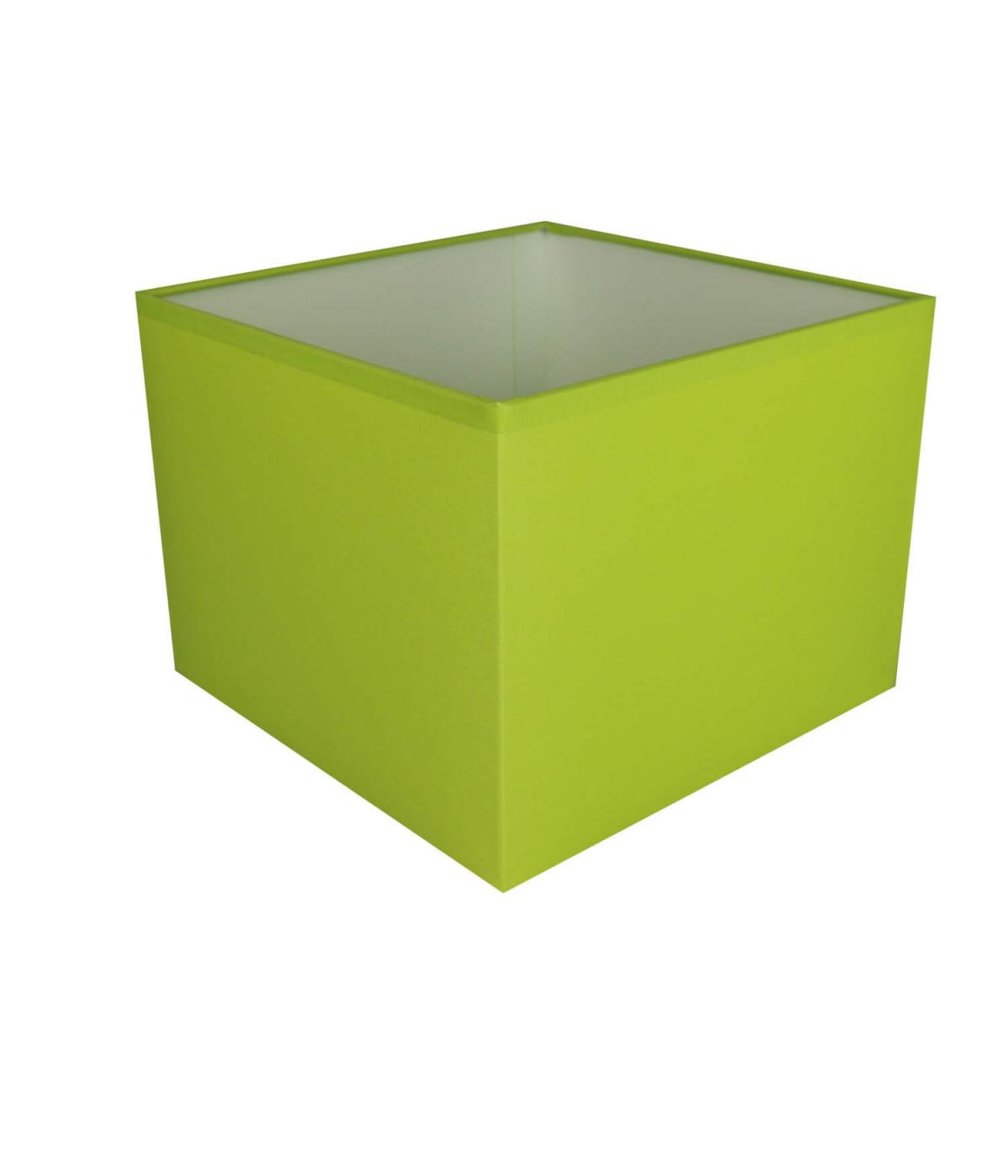 Abat-jour carré Vert pomme