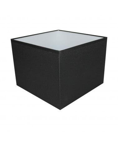Abat-jour carré Noir