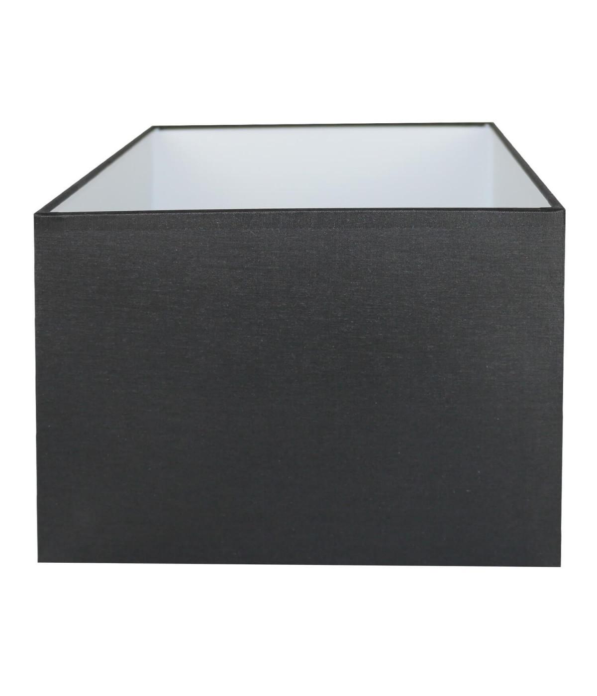 Abat-jour rectangle Noir