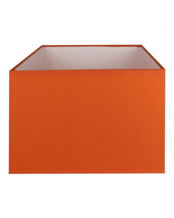 Abat-jour rectangle Orange