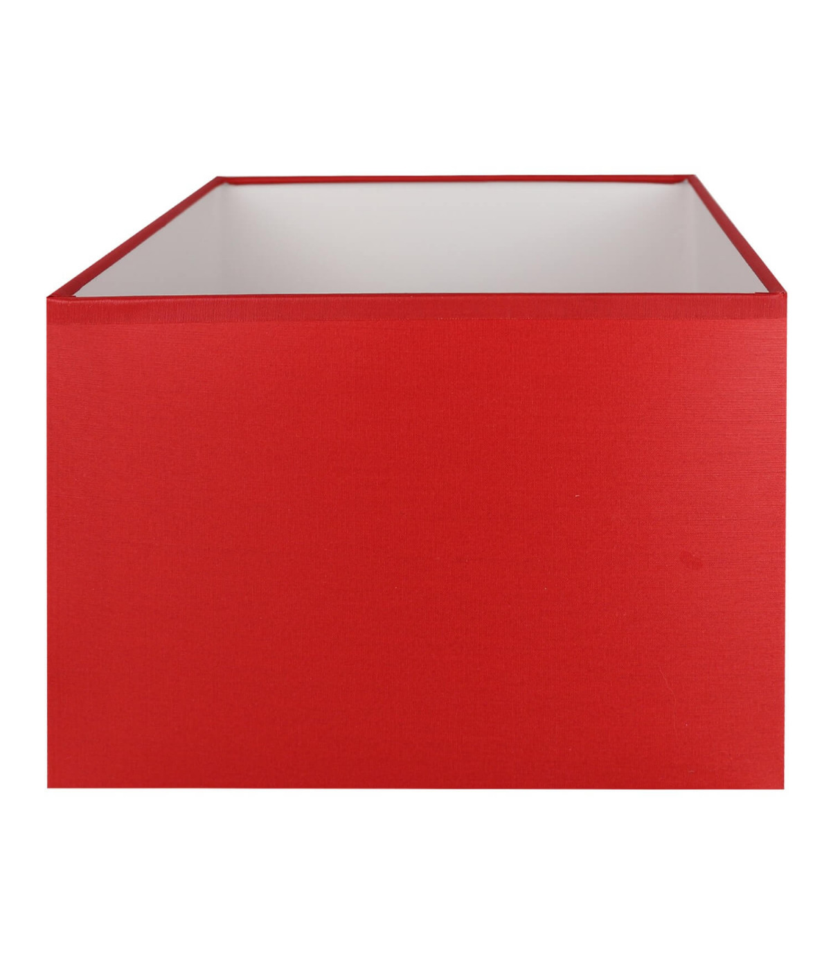 Abat-jour rectangle Rouge