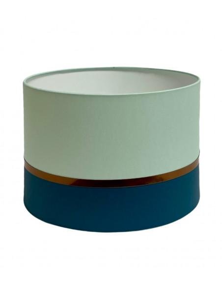 Abat-jour Lampadaire Bleu Vert Collection Kharani