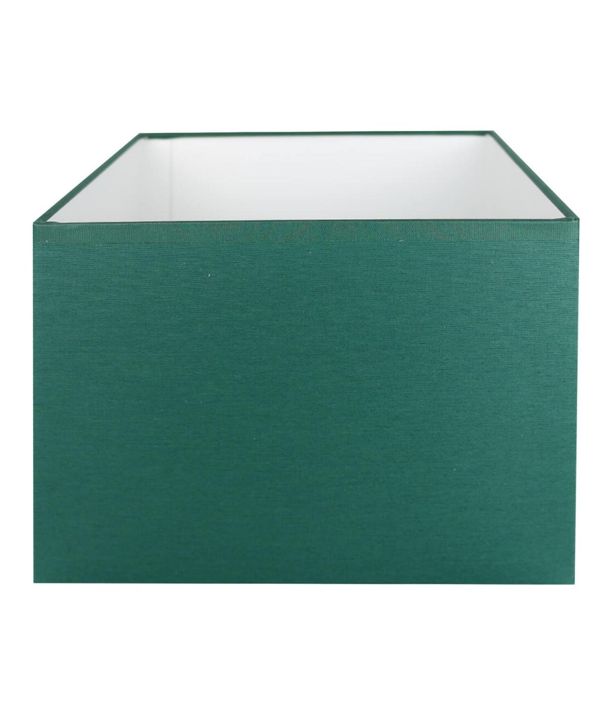 Abat-jour rectangle Vert empire