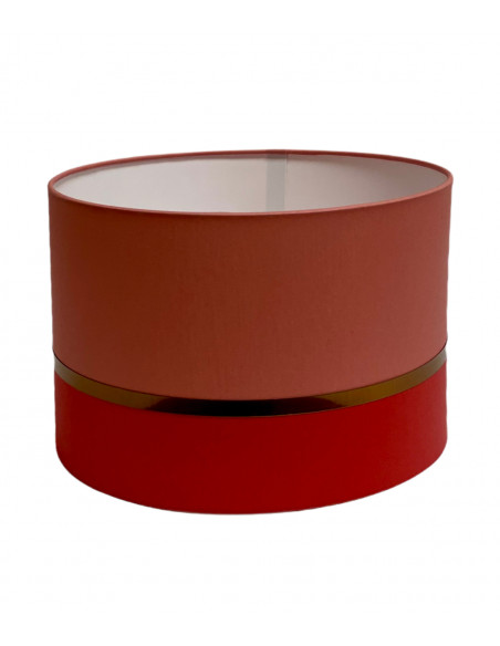 Abat-jour Lampadaire Rouge Collection Kharani