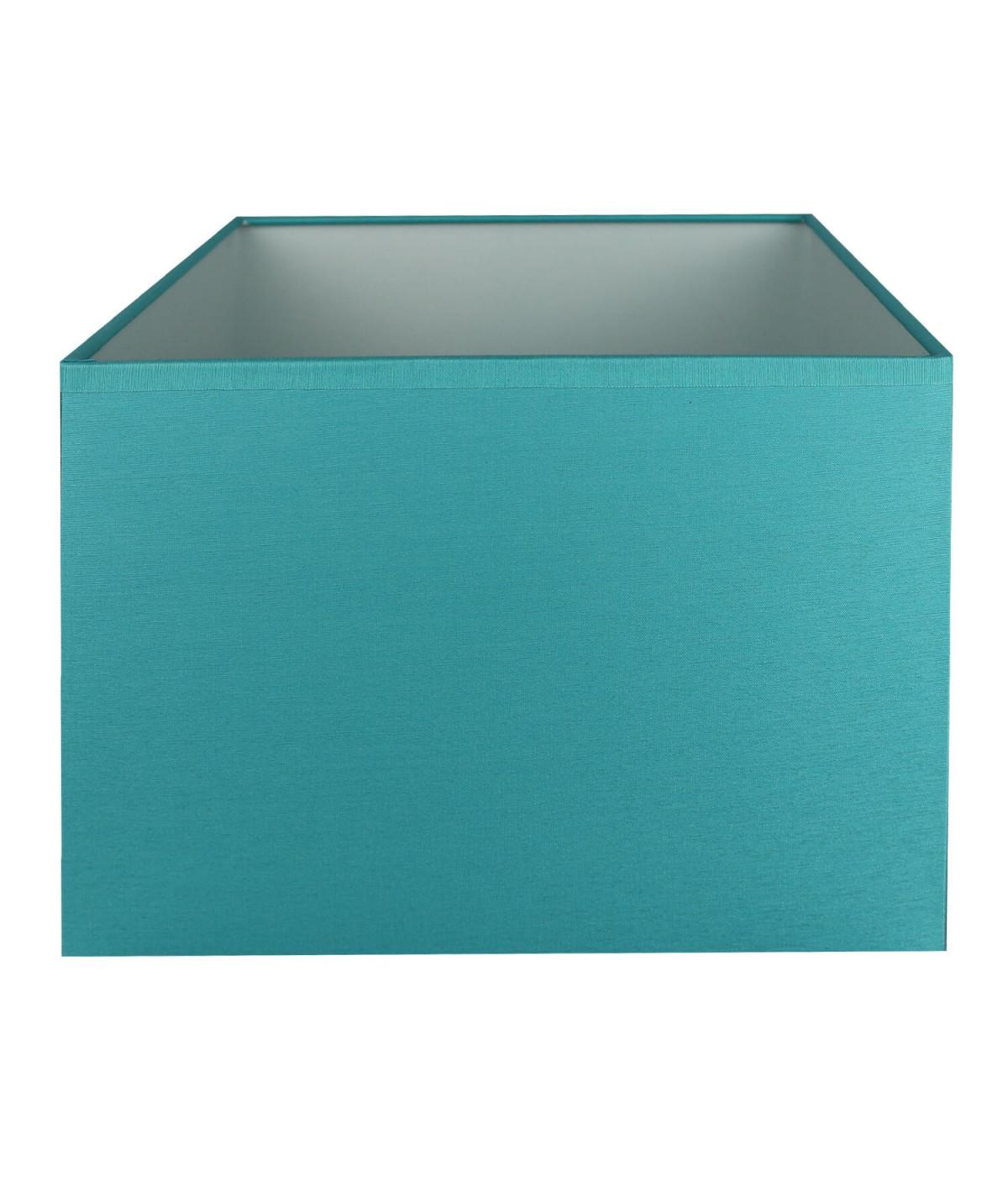 Abat-jour rectangle Bleu turquoise