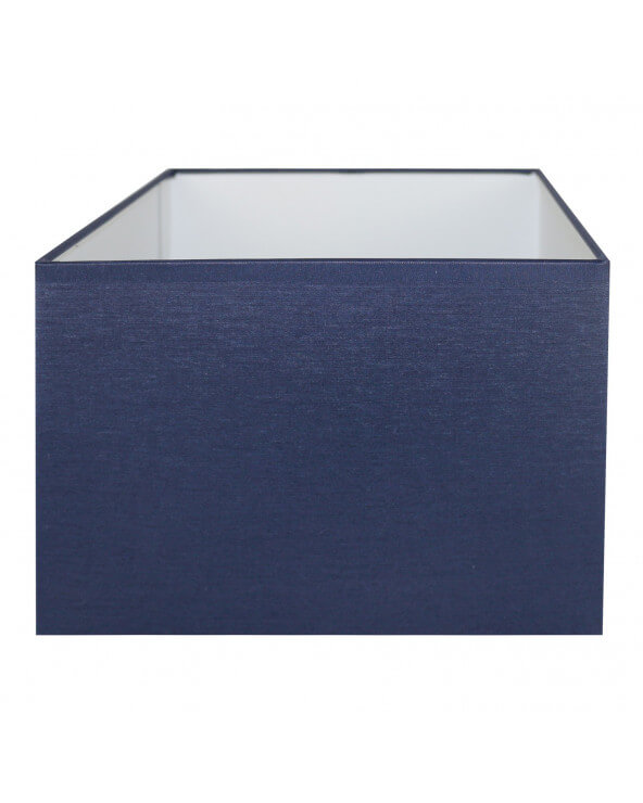 Abat-jour rectangle Bleu marine