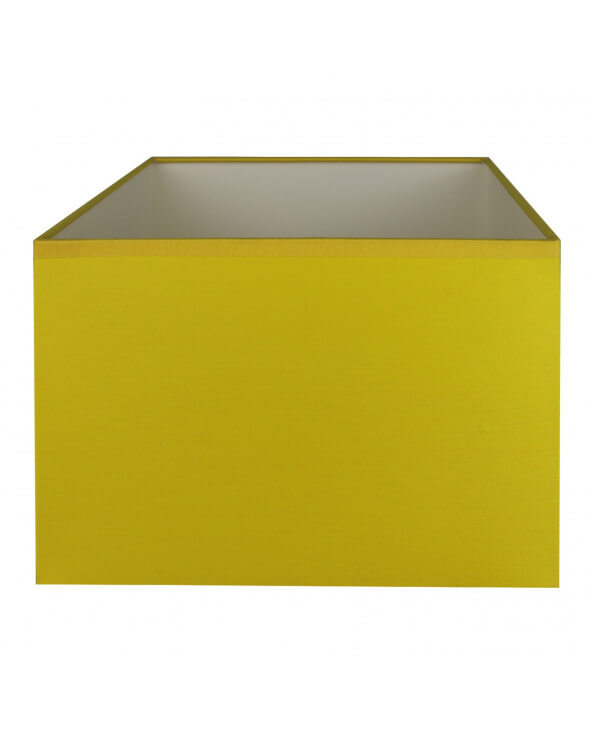 Abat-jour rectangle Jaune