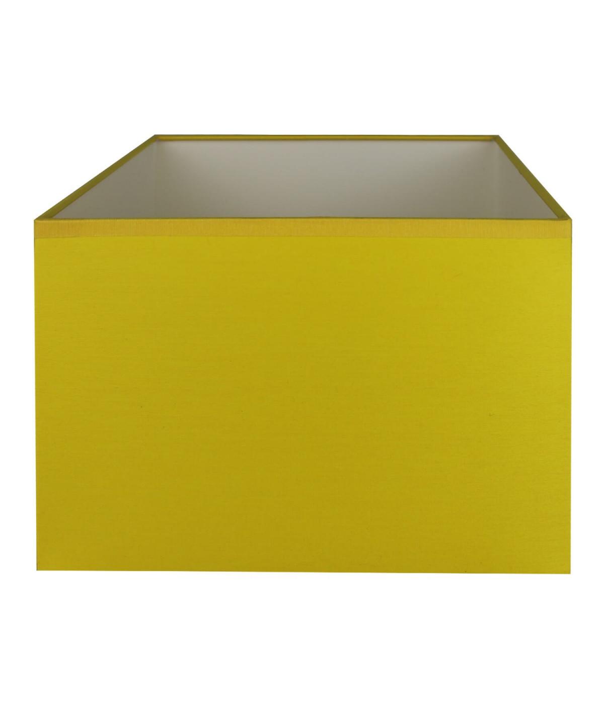 Abat-jour rectangle Jaune