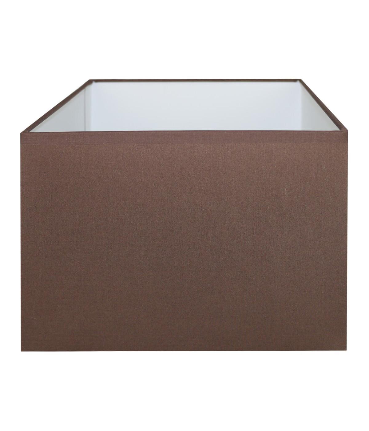 Abat-jour rectangle Chocolat