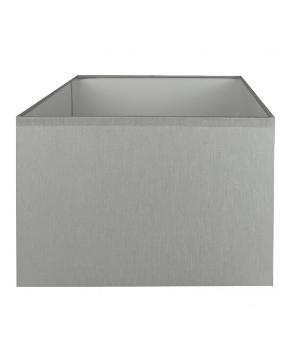 Abat-jour rectangle Gris clair