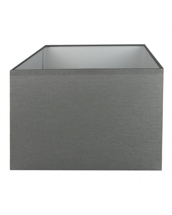 Abat-jour rectangle Gris moyen