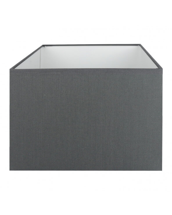 Abat-jour rectangle Gris souris
